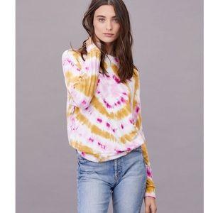 LNA tie dye dolman sweater SZ S BNWT